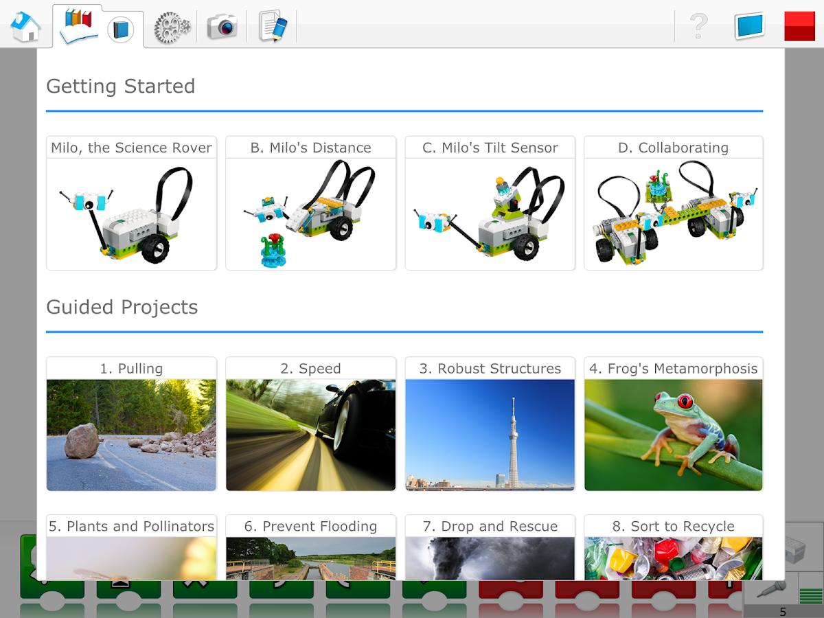 Resultado de imagen de software wedo 2.0