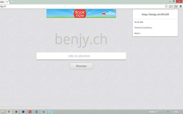 BENJY.CH URL Shortener