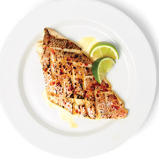 Red Snapper With Sambal.