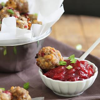 Cranberry Cheddar Sausage Bites