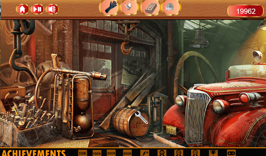 Hidden Object Dark City Free- screenshot thumbnail