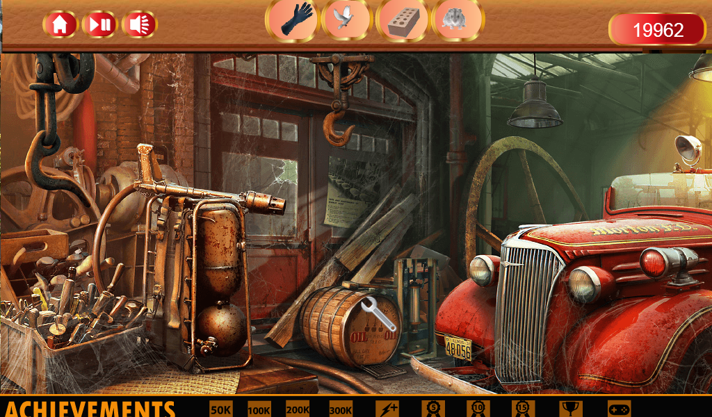 Hidden Object Dark City Free- screenshot