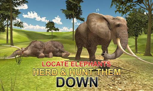 화가 코끼리 사냥꾼 3D