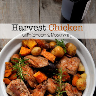 Harvest Chicken with Bacon, Apples and Rosemary