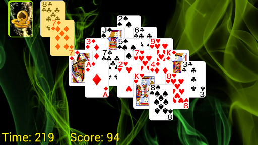 Pyramid Golf Solitaire screenshots 6