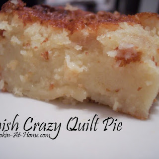 Amish Crazy Quilt Pie.