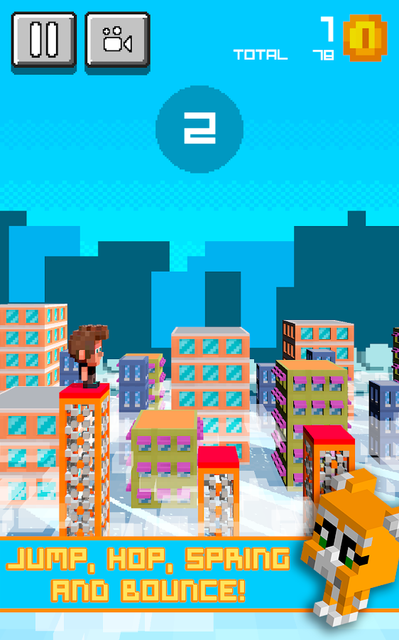 Super Block Jumper- screenshot