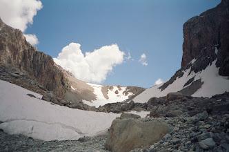 Photo: Archa-Kanysh, Topon-Yashilkyl pass (view up, E)