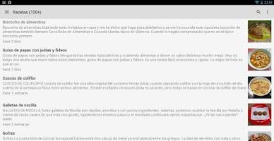Screenshot of Recetas Thermomix