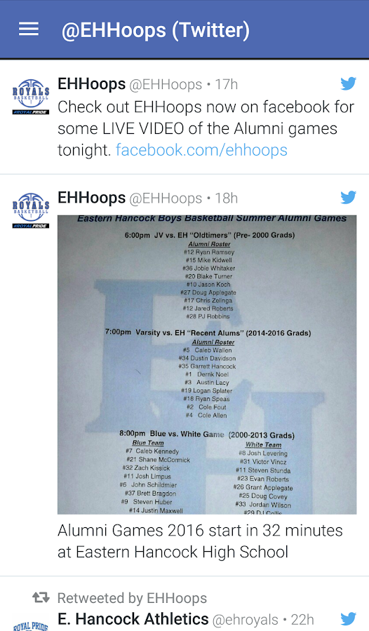 EHHoops- screenshot