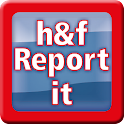 h&f Report it icon