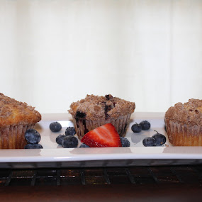 Blueberry Muffins by Rohan Jackson - Food & Drink Cooking & Baking
