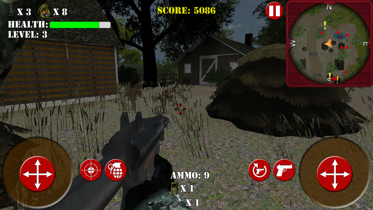 Zombie Turkey Outbreak- screenshot