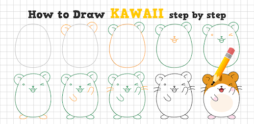 How to Draw Kawaii Drawings APK