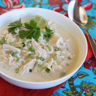 Easy Thai Coconut Soup