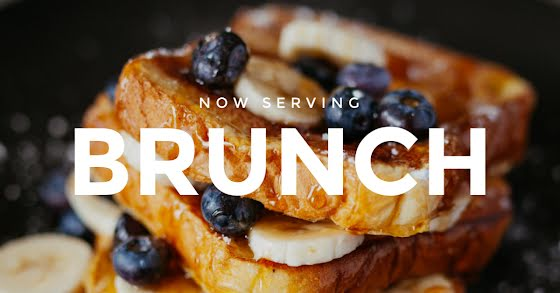 Now Serving Brunch - Facebook Event Cover Template
