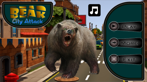 Bear Simulator City Attack 3D