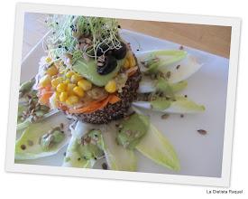 Photo: Ensalada de Quinoa y crema blancanieves (PCS) de Raquel