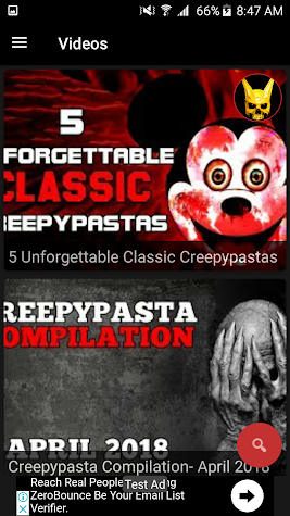 Creepypasta Reader Screenshot