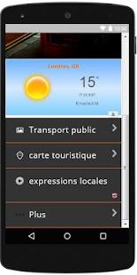 Visiter Londres travel app - náhled