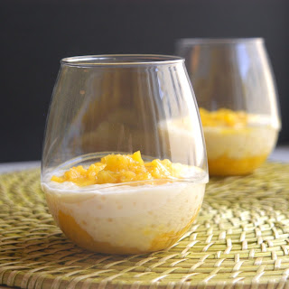 Coconut Tapioca Pudding with Mango & Lime