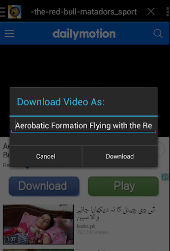 Fastest Video Download