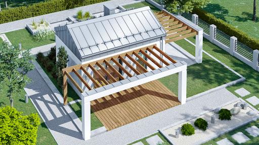 projekt Dom przy Bukowej 35 N