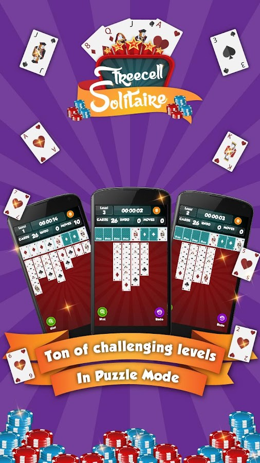 freecell rules of game