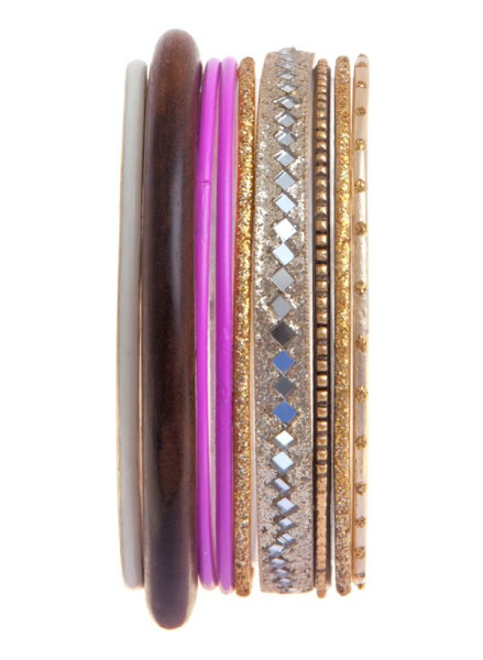 Photo: Set of Neon and Wooden Bangles £4.99 Buy 1 Get 1 Free http://bit.ly/KoQMqp