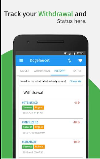 Dogefaucet: Free Dogecoin 3.3.1 screenshots 5