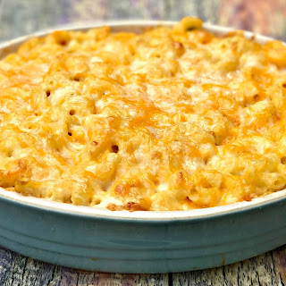 Southern-Style Baked Macaroni and Cheese.