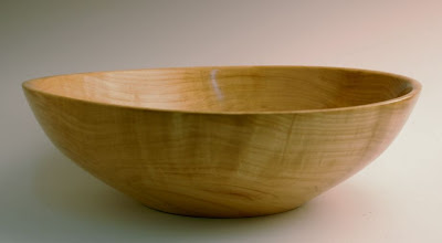 "Photo: Tim Aley - Bowl - 12"" x 3 1/2"" - Cherry"