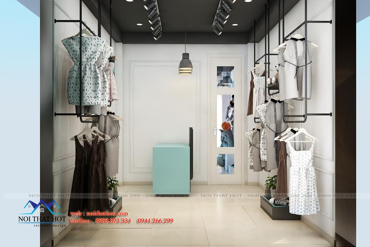 thiết kế shop thời trang tại HCM