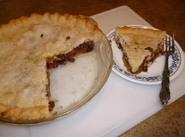 Mince Believe Pie Recipe