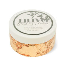 Tonic Studios Nuvo Gilding Flakes - Sunkissed Copper
