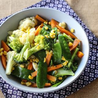 Buttered Vegetables.