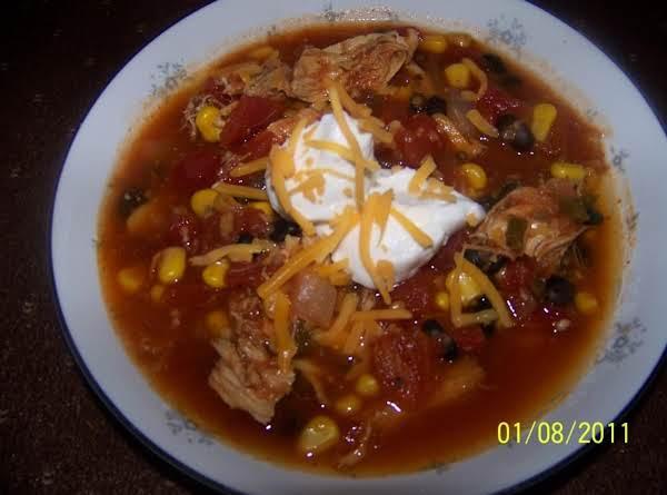 Chunky Tortilla Soup