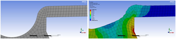 В ANSYS параметр жесткости «hourglass stiffness factor» задаётся параметром (real constant) с названием «HGSTF»