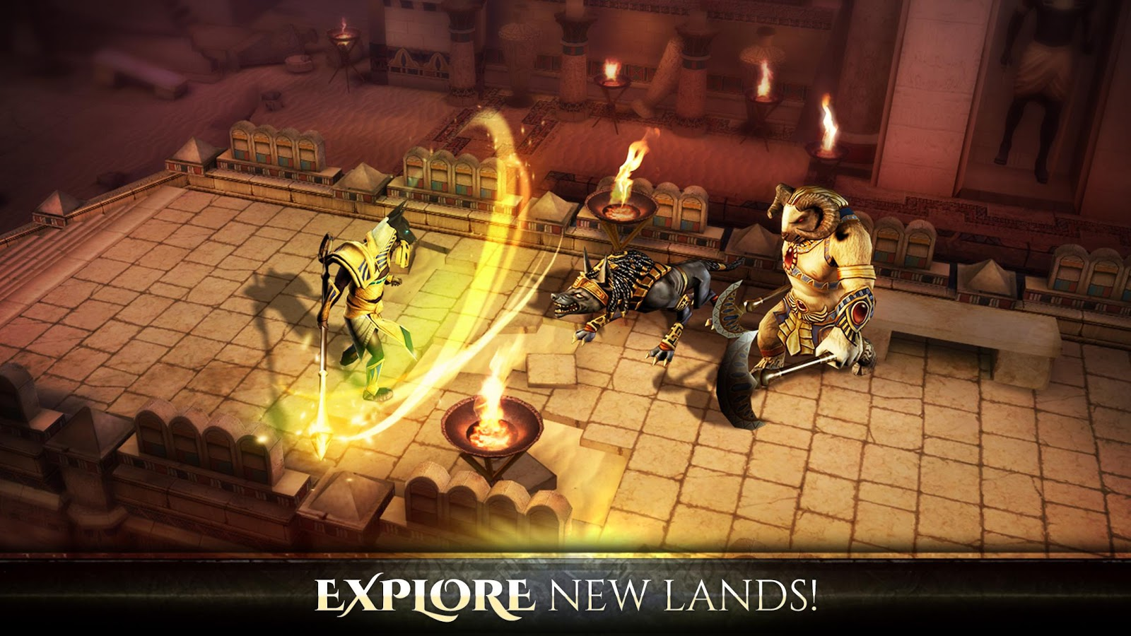 Screenshots of Blood & Glory: Immortals for iPhone