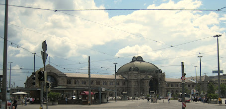 Photo: The Nurnberg Hauptbahnhof (main train station)