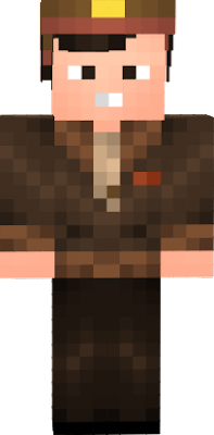 Colonel Hogan from the classic American sitcom Hogan's Heroes. Compatible as a Steve model Minecraft skin.