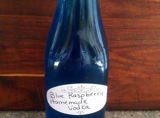 Homemade Blue Raspberry Vodka Recipe