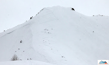 Photo: The second access to sopka Palec (1225 m) - final slope