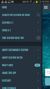 Seafood Watch- screenshot thumbnail