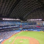 Blue Jays baseball at the Rogers Centre in Toronto, Ontario, Canada