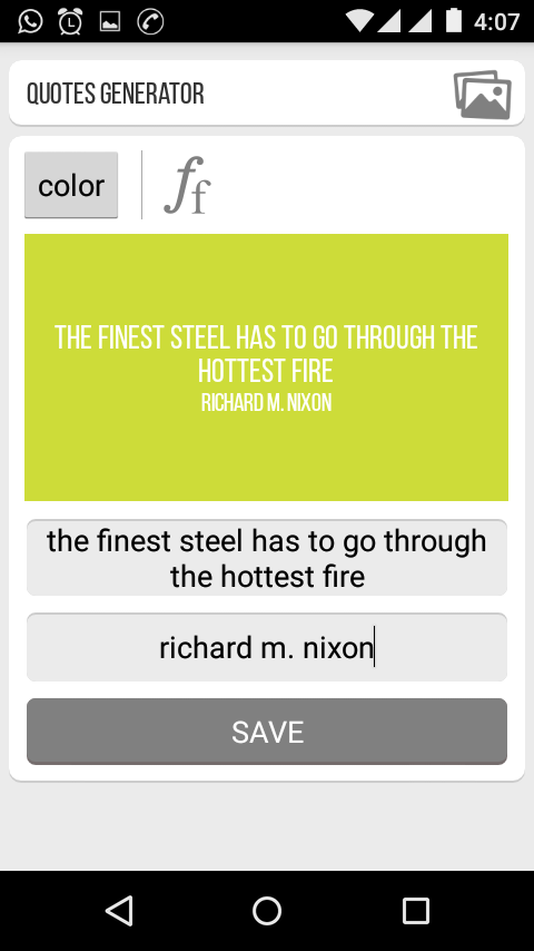 Quotes Generator Fascinating Quotes Generator  Android Apps On Google Play