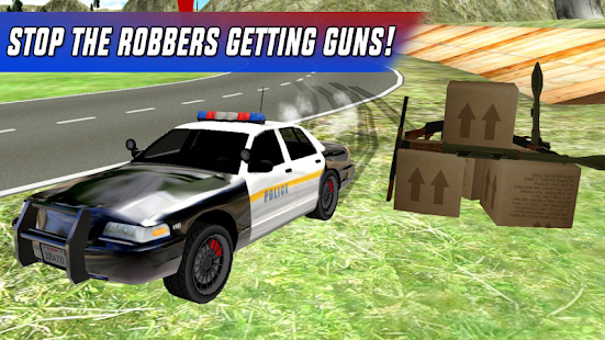 Police Car Chase Offroad- screenshot thumbnail
