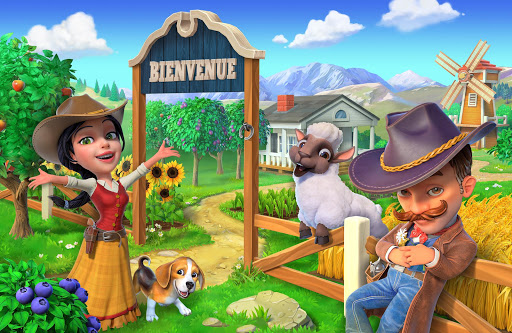 Wild West: New Frontier. Crée ta ferme de rêve! APK MOD – Pièces Illimitées (Astuce) screenshots hack proof 1