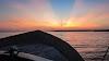 Sri. Lanka Wilpattu National Park . Sunrise across Dutch Bay, Kalpitiya