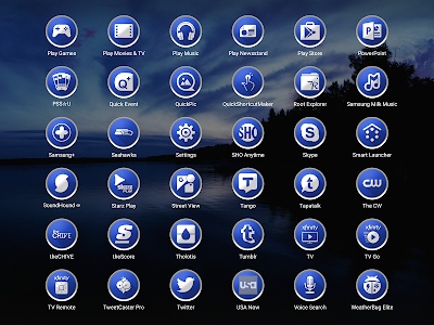 Enyo Blue - Icon Pack screenshot 13